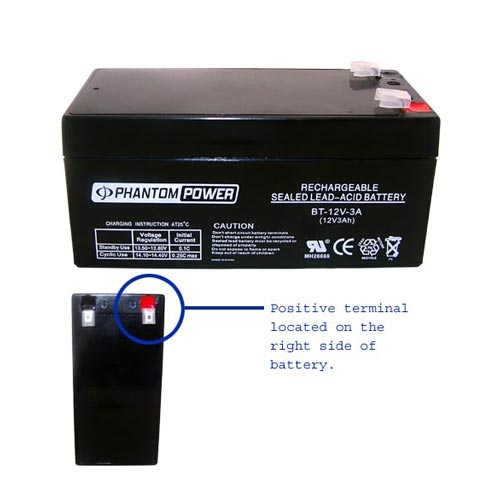 12v 3ah sealed battery 03 7748 allway technologies quality products best prices. Black Bedroom Furniture Sets. Home Design Ideas